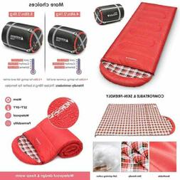 0° Celsius Cold Weather Sleeping Bag For Camping Backpackin