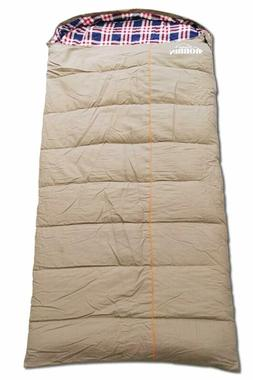 0 Degree Cold Weather Sleeping Bag Water Resistant Canvas an
