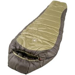 Coleman 0°F Mummy Sleeping Bag for Big and Tall Adults   No