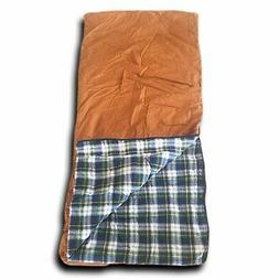 Wolftraders +20 Degree Classic Canvas Square Sleeping Bag