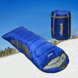 Adult Cold Weather Sleeping Bag For Big & Tall w/t Sack - 0