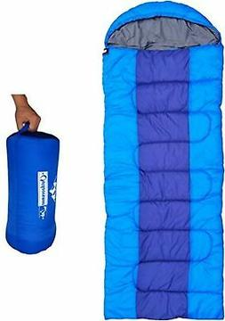 "Camping Accessories 85"" x 29.5"" Soft Sleeping Bag with Compr"