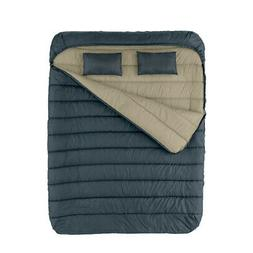 Cold Weather Sleeping Bag 2 Person Queen Size Outdoor Campin