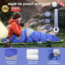 Envelope Compact Sleeping Bag For Outdoor Camping Hiking Bac