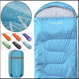 FARLAND Camping Sleeping Bag for Adults Youth Teens Kid with