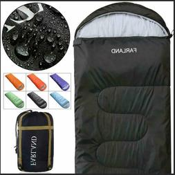 Farland Sleeping Bags For Adults Teens - 20 Degrees ℉- 4 S