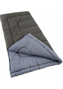 Coleman® King Size Cold Weather Sleeping Bag - Blue/Gra