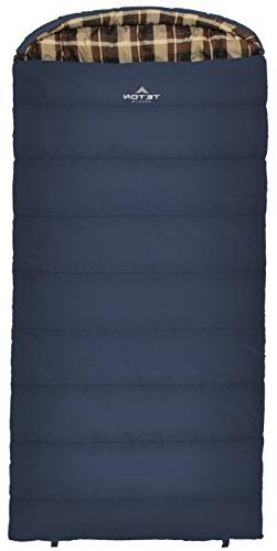 TETON Sports Celsius XL 0F Sleeping Bag; Great for Family Ca