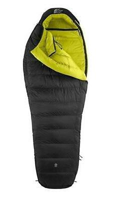 The North Face Inferno 0F -18C Sleeping Bag Grey Long Right