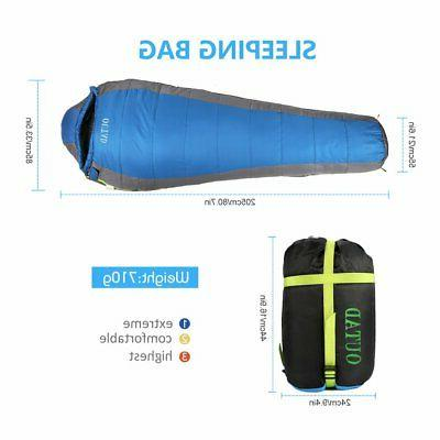 Sleeping Bag Cold Weather Camping Hiking Thermal Outdoor