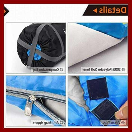 Sleeping Bag 2 Person Bags Cold L