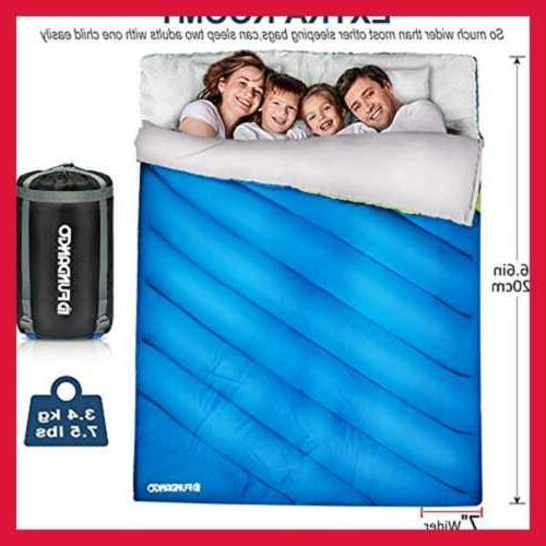 Sleeping Bag Person Adults Cold Weather L