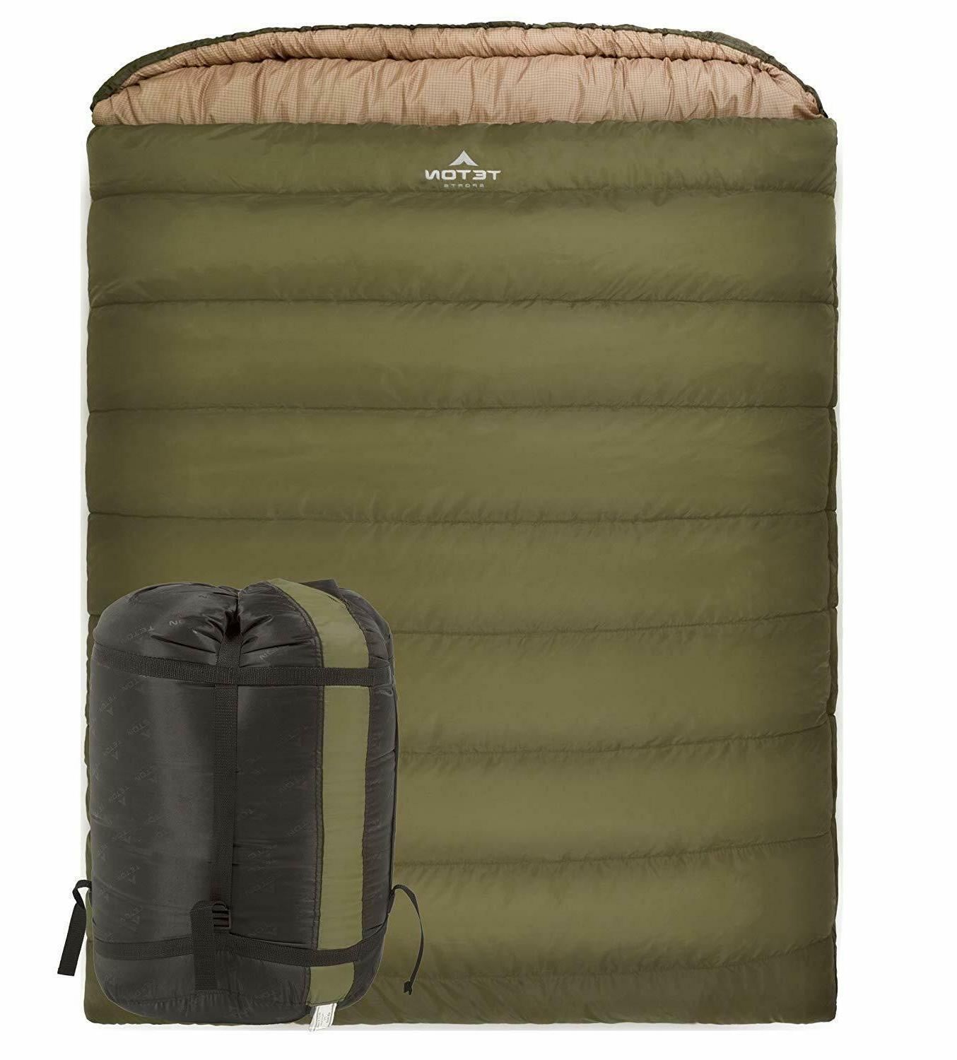 Mammoth Sleeping Bag Cold Weather Thermal Flannel Lined Quee