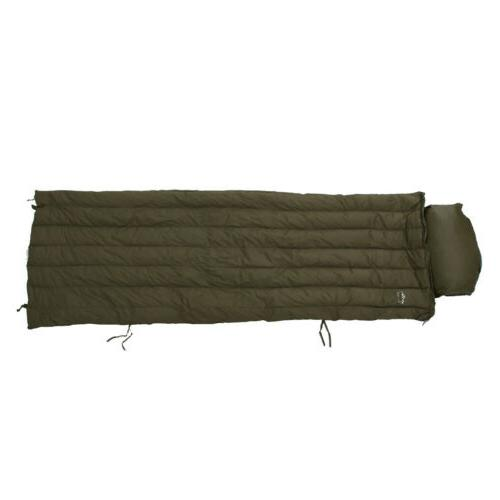Ultralight Goose Down Sleeping Bag with Pillow & Compression