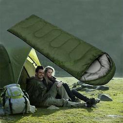 Mummy Sleeping Bag 5°C-15°C Camping Hiking With Carrying C