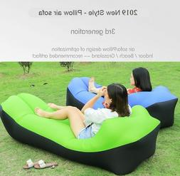 New Air Sofa Bed Fast Inflatable Lazy Camping Sleeping Porta