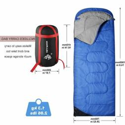 Outdoor Cotton Flannel Backpacking Sleeping Bag for Adults C
