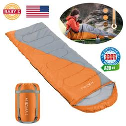 Portable Lightweight Envelope Sleeping Bag For Adults Campin