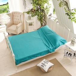 Pure Blue LINER Single/Double Sleeping Bag Inner Sheet Trave