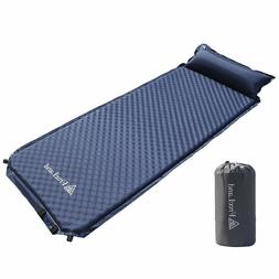 Sleeping Bag Air Pad Self Inflating Attached Pillow Lightwei