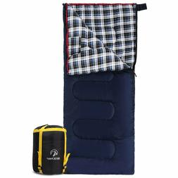 Sleeping Bag for Adult 50 Degrees Cotton Flannel Sporting Go