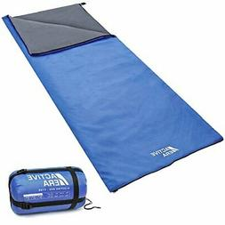 Active Era Ultra Lightweight Sleeping Bag for Warm Weather w