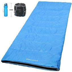 Norsens Warm Weather Sleeping Bags for Adults, 20 Degree Com
